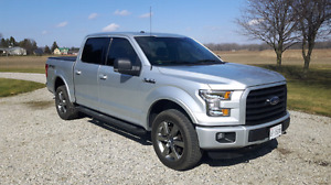 2015 F-150 XLT SPORT SuperCrew