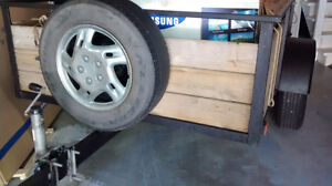 Well Built 5'x8' Utility Trailer Needs New Home Peterborough Peterborough Area image 1