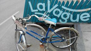 Vélo vintage Supercycle rétropédalage