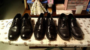 Dress Shoes- 3 Pairs