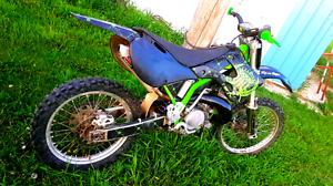 Kawasaki kx 250cc 2stroke