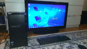 Ordinateur ACER i5 + 32po HDTV Toshiba + WiFi/ MS OFFICE Word,