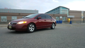 2007 honda civic Lx No Accident low kms clean history