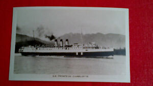 Postcard-S.S. Princess Charlotte, 1940's vintage Kitchener / Waterloo Kitchener Area image 1