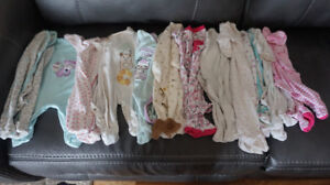 Baby girl clothes, newborn to 3 months