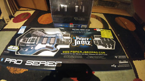 Paper jams guitar and amp. Great Gift!! NEW. 25$