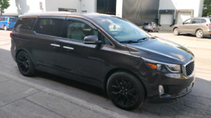 2015 kia Sedona sx leather 8 pass