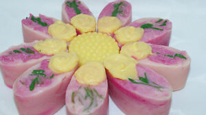 Handmade natural soap, bath and beauty products