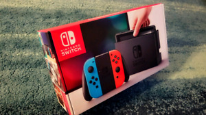 BRAND NEW IN THE BOX & SEALED wd RECEIPT& NO TAX Nintendo Switch