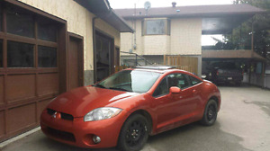 Fun and sporty little car - 2007 Eclipse GT-P