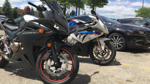 SOLD * 2016 HONDA CBR500R ABS, W/ MODS Check Description