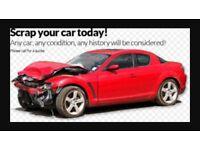 ALL SCRAP CARS TAKEN AWAY SAME DAY CASH PAID