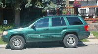 2000 Jeep Grand Cherokee 2nd lady owner open to reasonable offer