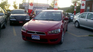 2009 Mitsubishi Lancer GTS Sedan.GPS/ BLUETOOTH/ LEATHER