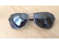 Ray Ban Polarized sun glasses (like new)