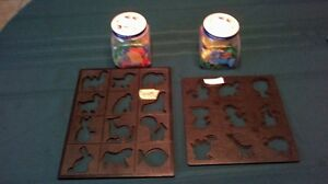 Animal shape puzzle's
