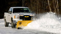 Snow removal. Snow plowing.