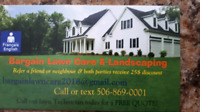 Lawn care by cut or seasonal & landscaping price match!