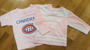 NHL Montreal Canadiens - PINK toddler fan gear