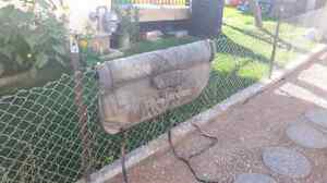 Free well used Dakine tailgate pad for small truck