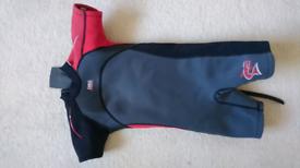 Age 5-6 short sleeve wetsuit