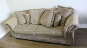 PRACTICALLY NEW BOMBAY SOFA