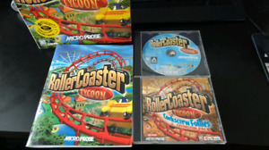 RollerCoaster Tycoon + Expansion Pack $10