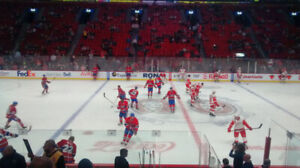 2 billets Montreal canadiens vs Florida Panthers 26 mars 101 F