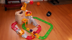 Montagne track de train little tikes