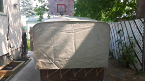 Heavy duty trailer cover 5x8 price dropped