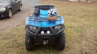 LOOKING TO TRADE FOR ATV WITH INDEPENDENT SUSPENSION