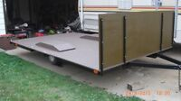 NICE 8 FT X 13 FT ATV TRAILER---EVERYTHING IS NEW