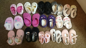 Newborn to size 3 shoes