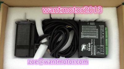 Us Wantai Closed-loop Motor Nema34 Encoder 1000 9nm 6aeasy Servo Driver Ss880