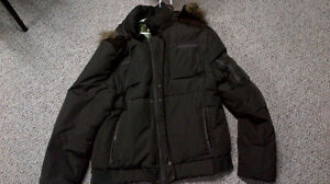 Mens Buffalo Goose Feather filled jacket