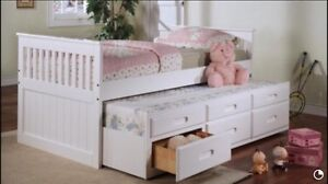 TRUNDLE BED, BUNK BED, QUEEN & KING BED, SOFA BED STARTING 325$