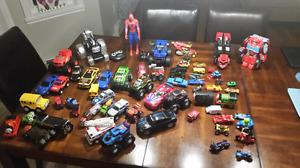 Boys toys, big lot of various