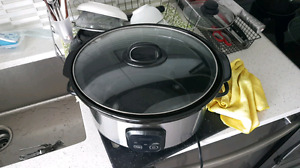 99%  new slow cooker