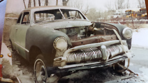 1949 Meteor Custom has mercury style front grill