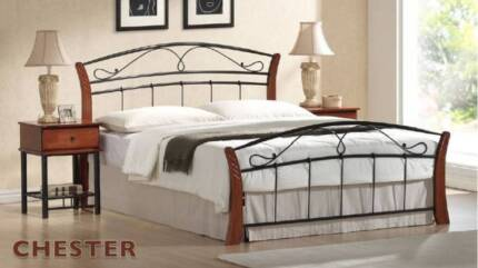 A Great Range Of Quality Sturdy Double Size Wood\Metal Bed Frames