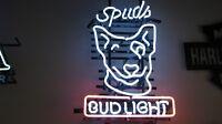 Bud Light neon beer sign