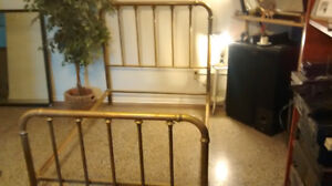 twin brass bed for sale $150