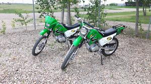 Pair of Panterra Bikes