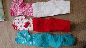 Girl 0-3 month clothing lot