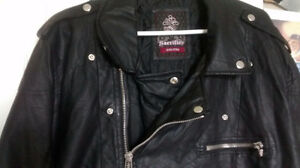 Men's Leather *Biker* Jacket