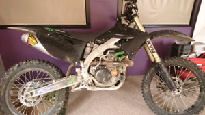 09, kawi 450 forsale or trade (looking for a quad)