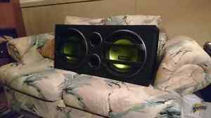 2 12 inch subs subwoofer