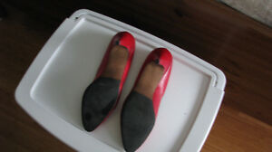 4 Pair Women's Leather Shoes Size 12