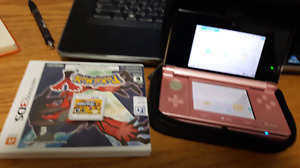 Trading a 3ds with pokemon y and super mario bros 2
