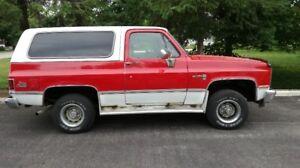 1985 Jimmy Diesel Truck